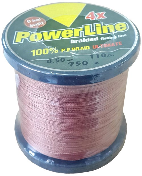 Powerline Pe Braid 4 Kat 750 mt Örgü İp