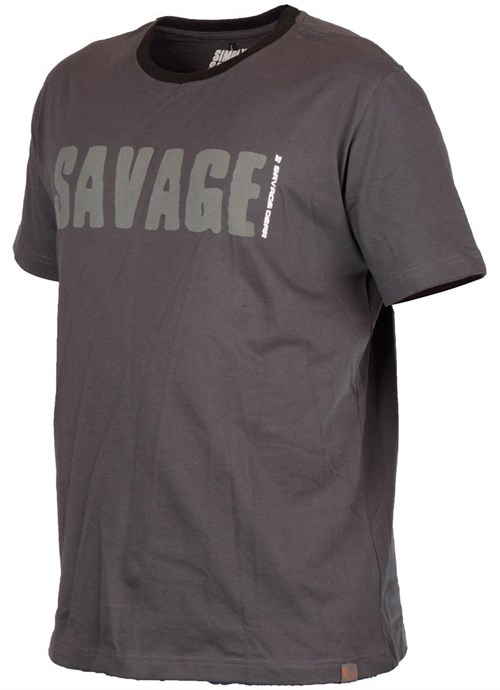 Savage gear Simply Savage Tee Grey T-Shirt