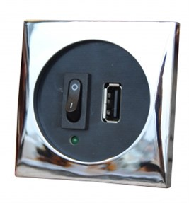 Frilight USB port