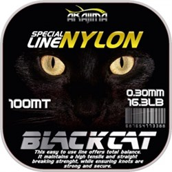 Black Cat Nylon Misina 0.23mm Siyah
