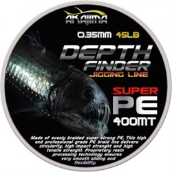 Deep Finder Jigging Misina 0.40mm Multi Color 400m