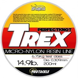 Trex Nylon Resin Misina 0.203mm 200m